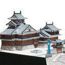 福知山城 A4サイズ 城郭模型 ジオラマ風 日本の名城シリーズ1/300 NO29(ゆうメール発送/代引き未対応)
