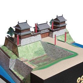 信州上田城 A4サイズ 城郭模型 ジオラマ風 徳川勢が落とせなかった堅固な城 日本の名城シリーズ1/300 NO33(ゆうメール発送/代引き未対応)