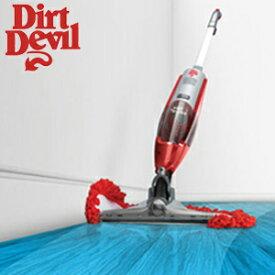 【ダートデビル Dirt Devil ACモップ&クリーナー VAC AND DUST DQC-DVA-JA】 電源コードタイプ 【送料無料】 モップ&クリーナー ダートデビル モップ掃除機