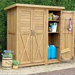 木製大型収納庫