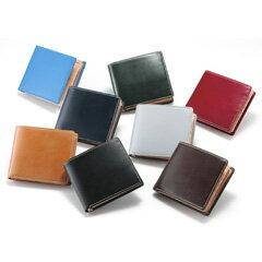 【即出荷】【送料無料・正規品】 ブリティッシュグリーン 二つ折り財布 62789 ブライドルレザー [レザー財布 メンズ財布 レザーウォレット 父の日のプレゼントにおすすめ]
