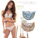 【zuka stella】ホワイト刺繍レースショーツ(ブラは別売り)
