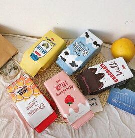 【あす楽!当日出荷】ミルク 牛乳 パック ショルダー バッグ レディース 高校生 中学生 小学生 可愛い かわいい インスタ 合皮 斜め掛け 韓国 ミルクパック型ショルダーバッグ♪お友達とそろえてインスタ映えに♪ 送料無料 韓国 雑貨 韓国雑貨 おしゃれ デザイン