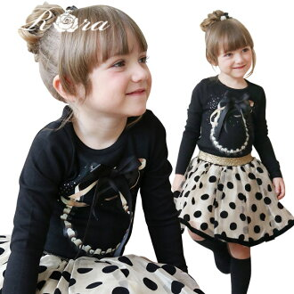 Rora Only Top Girls long sleeve pretty rhinestone bow t shirt 90cm 100cm 110cm 120cm 130cm 140cm