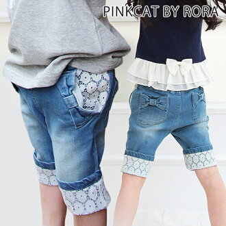 (the at half price sale that there is a difficulty in) child 90 100 110 120 130 140 child summer clothes kids clothes five minutes length six minutes length seven minutes length skinny pants bottoms jeans knee-length cute fashion of the children's clothe
