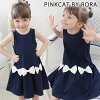 Summer clothes padded vest Shin pull fashion kids clothes summer dress 90 100 110 120 130 140 which the child of the children's clothes Rora Mera dress child dress wedding ceremony presentation Sunday clothes dress sleeveless dark blue navy children's cl