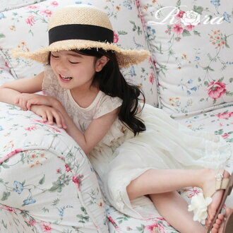 (product size 110cm&120cm which there is reason in) the race that child Seven-Five-Three Festival wedding ceremony kids dress piano presentation wedding ceremony four circle natural white of the children's clothes Rora umber dress dress child dress 9