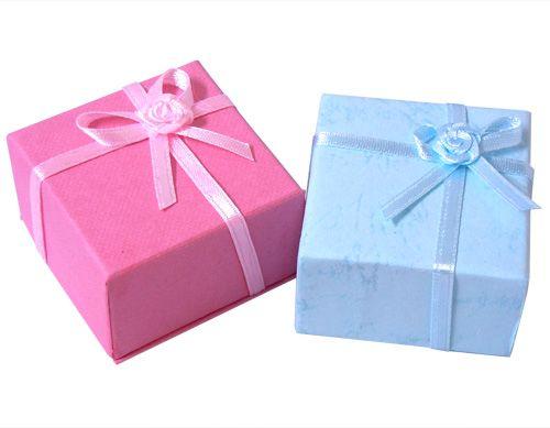 アクセサリーケース (ギフトボックス) リング用ジュエリーボックス 40×40×30mm/ 箱 小箱 ラッピング 材料 備品 プレゼント 包装