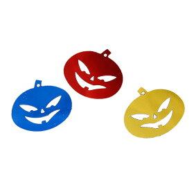 樹脂製スパンコールハロウィンパンプキン19mmミックスアソート(10g約230個入)/ジャックオーランタンかぼちゃプラ製プラスティックプラスチックシークインスパングル縫い付けぬいつけ刺繍パイエットpailletteデコレーション封入【ゆうパケットA対応】