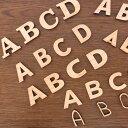 7cm 厚さ約6mm 切り抜き文字 アルファベット大文字 木製 自社工房 / 切り文字 切文字 パーツ ローマ字 ハンドメイド …