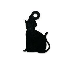 自社工房アクリルチャーム7cm猫厚さ:2mm選べる豊富なカラー/アクセサリーパーツバッグチャームモビールインテリアハンドメイド材料レジン資材【ゆうパケット対応】