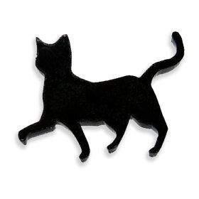 自社工房アクリルレジン台3cm猫1座り猫厚さ:2mm選べる豊富なカラー/アクセサリーパーツ猫