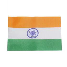 世界の国旗(約21×14cm)ア行国:インド【ゆうパケット対応】