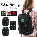 〈送料無料〉 リュック Keith Haring キースヘリング リュックサック デイパック バックパック フラップ バックル ス…