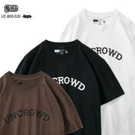 ☆送料無料☆UNCROWD(アンクラウド) UC-800-020 -logo- 全3色(ブラック・ホワイト・ブラウン)