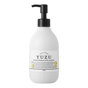 33952 YUZU ミルクローション300ml 乾燥 荒れ 香り ユズ 柚子 プレゼント ギフト ラッピング 521
