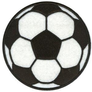 【フェルトポッケ】ワッペン(サッカーボール)
