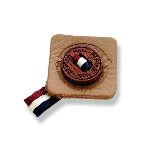 【レザーモチーフ】 ボタン&リボン 合皮を使用したタグシリーズデコ ハンドメイド材料 アクセサリーパーツ ハンドメイドクラフト 手作り素材