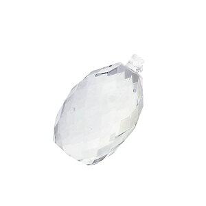 【シャンデリアパーツ】 ボトル型 透明