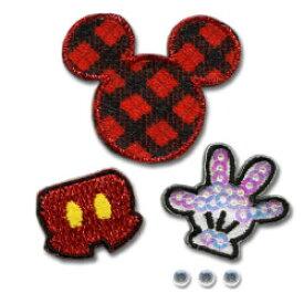 【DISNEY】ディズニーミッキーマウスシールワッペン