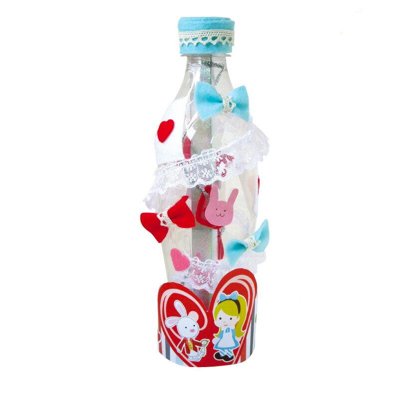 エコ万華鏡キットふしぎの国のアリスペットボトルをリサイクル工作にオススメ 夏休み 工作キット 高学年 小学生 自由研究 ハンドメイド