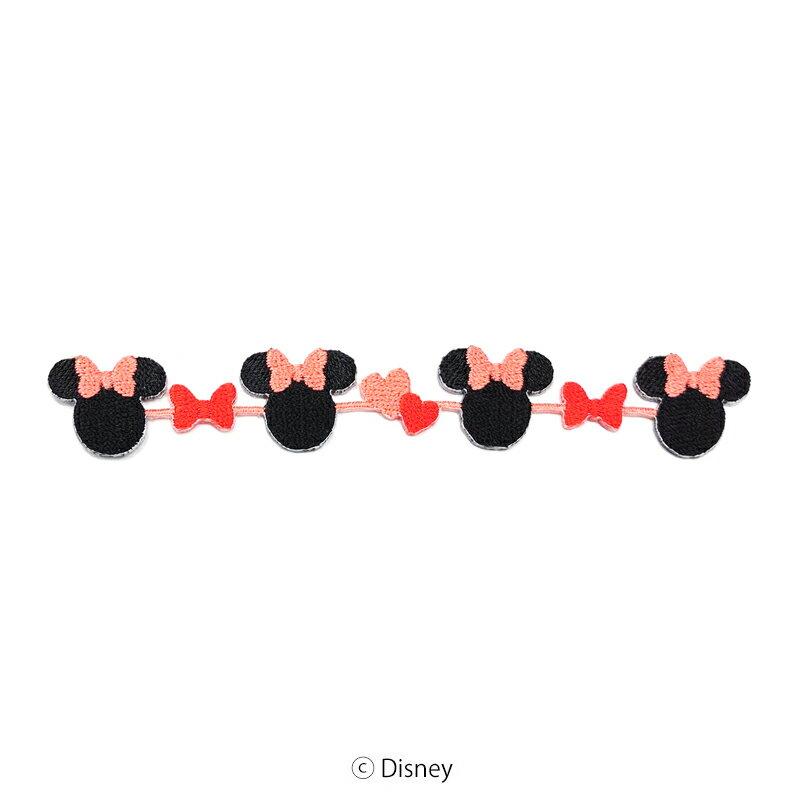 【DISNEY】ミニーマウスながーいワッペン