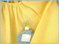 【名札付けアップリケ】星スモックの穴あき防止に!入園・入学準備に☆