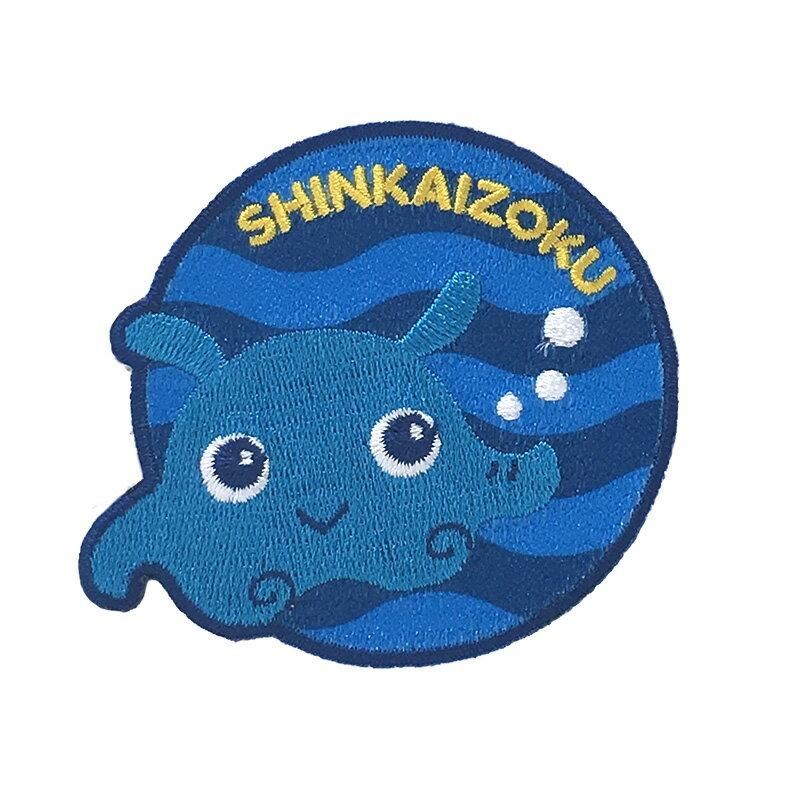 【サンリオ】シンカイゾクワッペン(メンタくん )