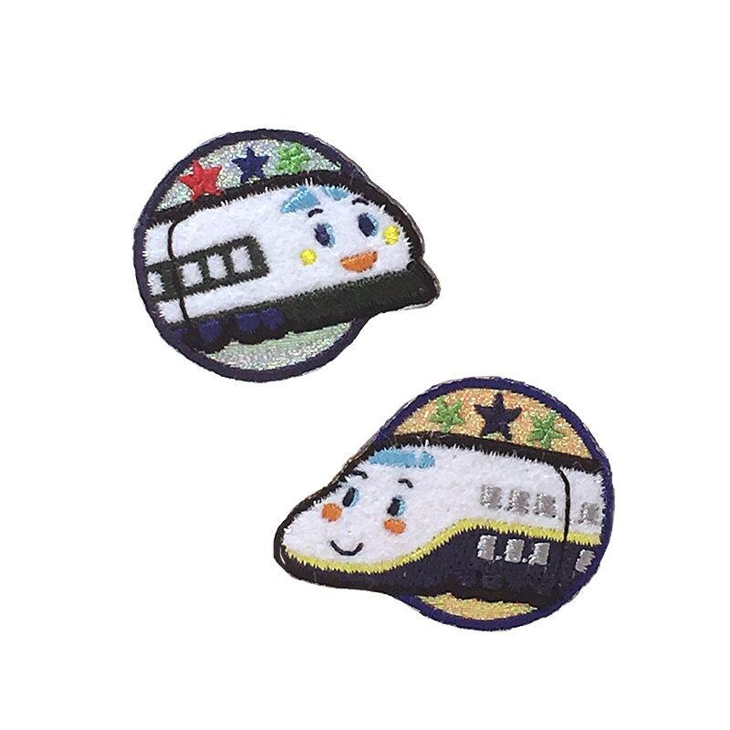【サンリオ】シンカンセンワッペン2個セット