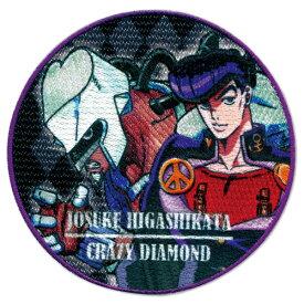 TVアニメ「ジョジョの奇妙な冒険 ダイヤモンドは砕けない」シール・アイロン両用タイプワッペン 東方仗助