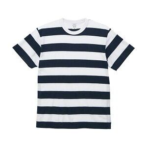 UnitedAthleユナイテッドアスレ5625-015.6オンスボーダーTシャツ半袖カジュアル