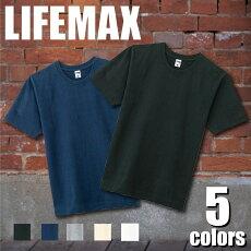 LIFEMAX10.2オンススーパーヘビーウェイトTシャツストリートカジュアル無地ライフマックスMS1150