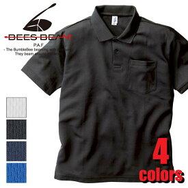 ポケット付きアクティブポロシャツ APP-260 BEES BEAM カジュアル スポーツ TRUSS