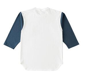 OE1230オープンエンド3/4スリーブベースボールTシャツクロス&ステッチCROSS&STTCH半袖無地ヘビーウェイト