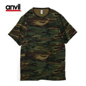 ANVL-T0939 4.9ozカモフラージュTシャツ anvil ミリタリー アンビル