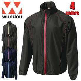 P4800 ウォームアップウインドブレーカージャケット WUNDOU スポーツ