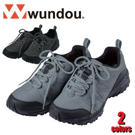 K105 トレッキングシューズ アウトドア 靴 WUNDOU ユニセックス