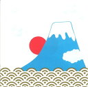 FRONTIA 素敵な ペーパーナプキン デコパージュ☆富士山 日の出 青海波 日本 大 お正月☆(10枚入り)