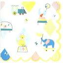 Meri Meri メリメリ 可愛い ペーパーナプキン デコパージュお子様・子供におすすめ☆動物たちのサーカス団 ぞう ライ…