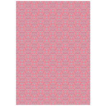 可愛いペーパーパッチ デコパッチ☆オーナメント柄 ピンク☆(Ornaments pink)【メール発送可】