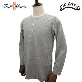 TWO MOON トゥー・ムーン ヘンリーネック ロングスリーブ Tシャツ 20237