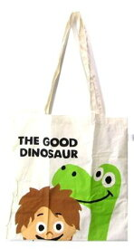 キャラクター・エコ(トート)バック(ショッピングバッグ・買い物袋・コットンバッグ)アーロと少年(アーロとスポットアップ・生成)【ゆうパケット(メール便)OK】