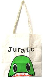 キャラクター・エコ(トート)バック(ショッピングバッグ・買い物袋・コットンバッグ)ジュラチック(ラプト・生成)【ゆうパケット(メール便)OK】