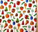 <キャラクター生地・布>はらぺこあおむし(エリック・カール)(オフ)#13【キャラクター】【生地】【布】【キャラクター生地】【入園 入学】