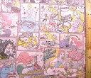 <キャラクター生地・布>ディズニープリンセス(薄ピンク)#54【ディズニー】【生地】【布】【キャラクター生地】【入園】【入学】