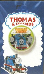 キャラクター ボタン 機関車トーマス ( 丸 ボタン ) 大 ( キャラクター ボタン チルドボタン チャイルド ボタン ぼたん 釦 飾り アクセサリー 可愛い かわいい 子供 こども 手芸 ) 【メール