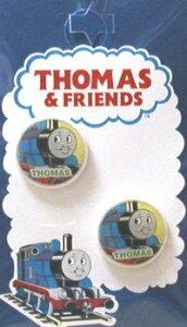 キャラクター ボタン 機関車トーマス ( 丸 ボタン ) 小 ( キャラクター ボタン チルドボタン チャイルド ボタン ぼたん 釦 飾り アクセサリー 可愛い かわいい 子供 こども 手芸 ) 【メール