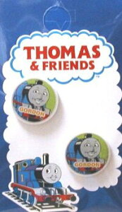 キャラクター ボタン 機関車トーマス ( 丸 ボタン ) 小 ゴードン ( キャラクター ボタン チルドボタン チャイルド ボタン ぼたん 釦 飾り アクセサリー 可愛い かわいい 子供 こども 手芸 )