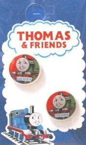 キャラクター ボタン 機関車トーマス ( 丸 ボタン ) 小 ヘンリー ( キャラクター ボタン チルドボタン チャイルド ボタン ぼたん 釦 飾り アクセサリー 可愛い かわいい 子供 こども 手芸 )