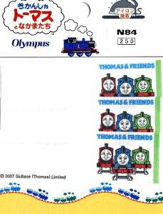 キャラクター ネームテープ 機関車トーマス ( ネームラベル ネームタグ アイロン お名前 おなまえ ワッペン アップリケ ハンドメイド 手芸用品 入園 入学 )